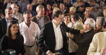 Mariano Rajoy visita el Pazo de Mos (Pontevedra)