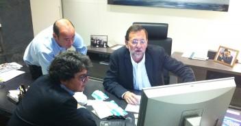 Moragas y Rajoy