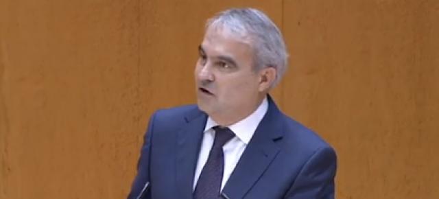 Francisco Javier Fragoso durante su intervención