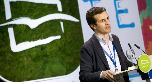 Pablo Casado interviene en el 14 Congreso de Nuevas Generaciones
