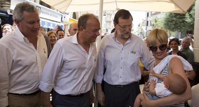Mariano Rajoy en Villanueva de la Serena